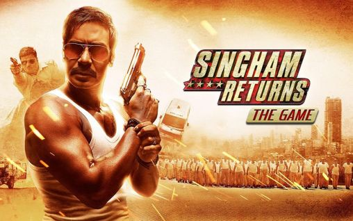 Singham returns: The game Screenshot