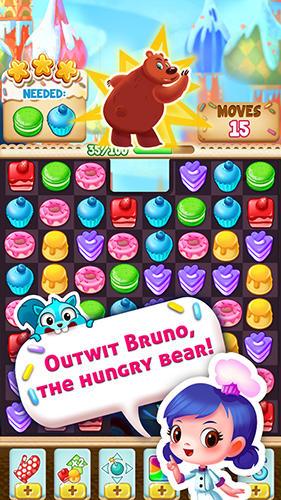 Arcade-Spiele Cupcake mania: Philippines für das Smartphone