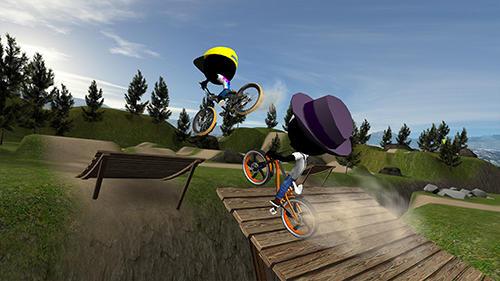 Stickman bike battle для Android