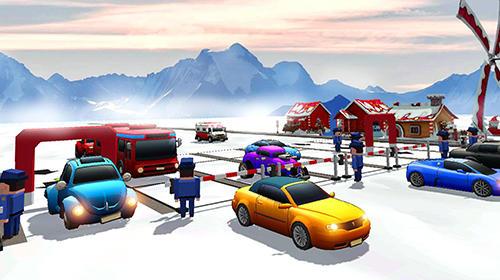 Simulation Parking playground für das Smartphone