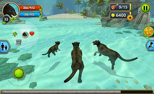 Panther family sim capture d'écran 3
