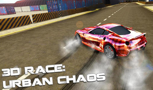 3d race: Urban chaos Screenshot