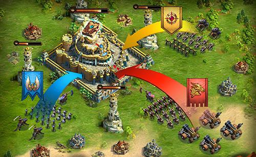 Online-Strategiespiele League of lords auf Deutsch