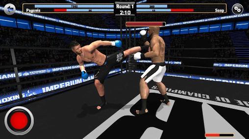 Kampfspiele Kickboxing: Road to champion für das Smartphone