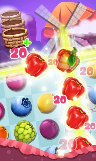 Panda and fruits farm Screenshot
