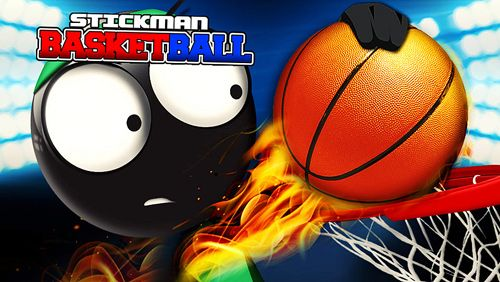logo Stickman basketball