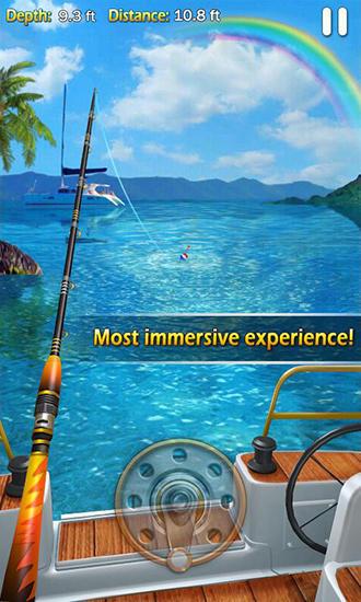 Симуляторы: скачать Fishing mania 3Dна телефон