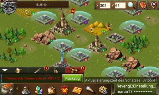 Online games Age of warring empire for smartphone