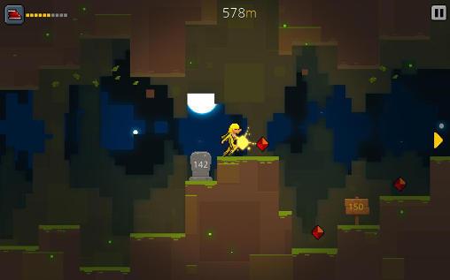 Pixelspiele Crevice hero auf Deutsch