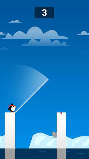 Sprungspiele Stick Penpen: Fun journey auf Deutsch