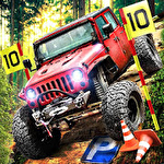 4x4 dirt off-road parking: Forest trials simulator icon
