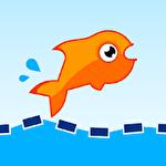 Jumping fish Symbol