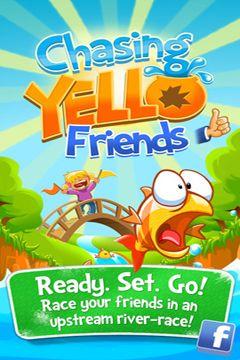 логотип Погоня жовтої рибки з друзями
