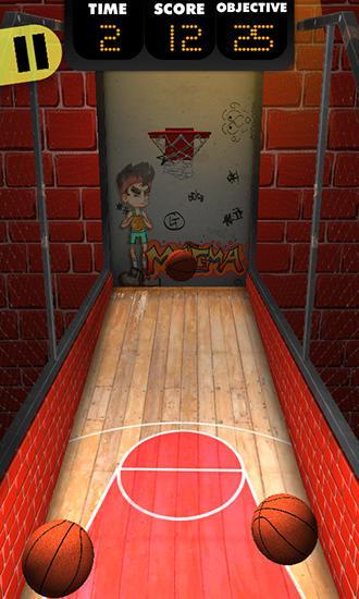 Basketball shooter auf Deutsch