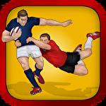 Rugby: Hard runner Symbol