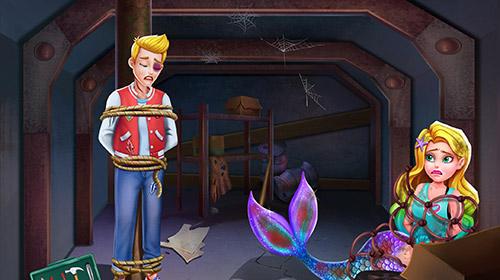 Prinzessinnen-Spiele Mermaid secrets16: Save mermaids princess sushi auf Deutsch