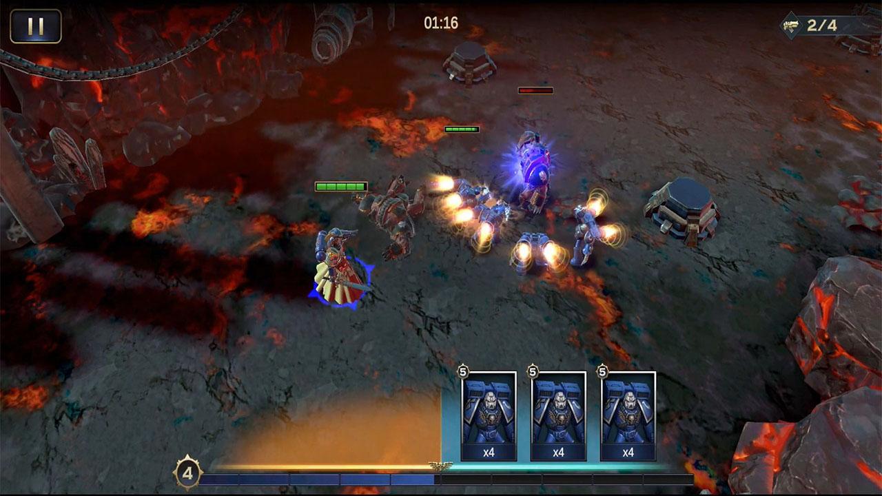Warhammer 40,000: Lost Crusade для Android