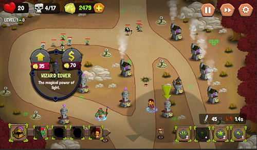 Tower defense: Castle fantasy TD für Android