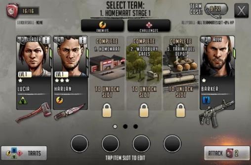 RPG: Lade The Walking Dead: Die Straße zum Überleben auf dein Handy herunter