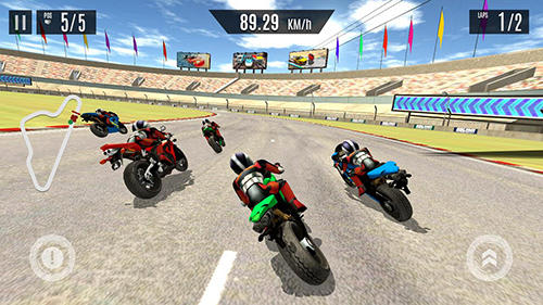 Bike race X speed: Moto racing auf Deutsch