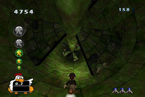 Adelante, corredor de túnel