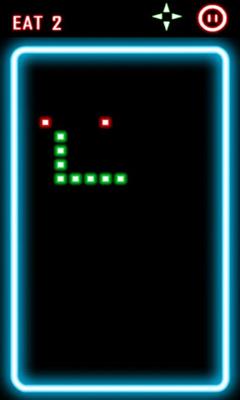 Arcade-Spiele Glow Snake für das Smartphone