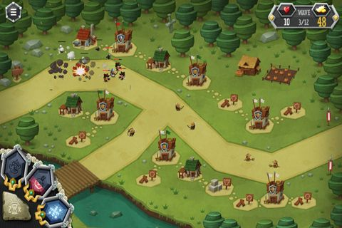 Скриншот Обитатели башни на Айфон