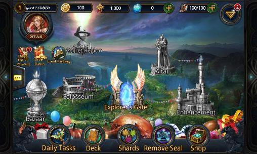 RPG-Spiele Deck heroes für das Smartphone