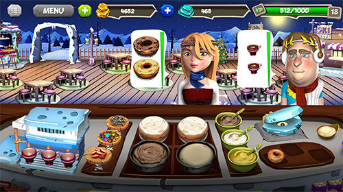 Stone age chef: The crazy restaurant and cooking game für Android