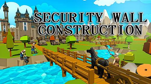 Security wall construction gamecapturas de pantalla