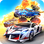 Overload: 3D MOBA car shooting icono