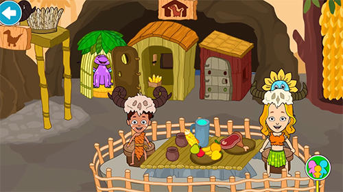 My stone age town: Jurassic caveman games for kids pour Android
