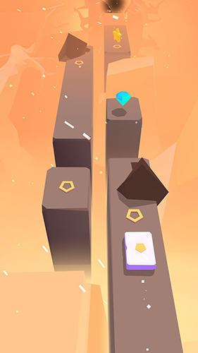 Arcade-Spiele Flippy tiles: Follow the music beat für das Smartphone