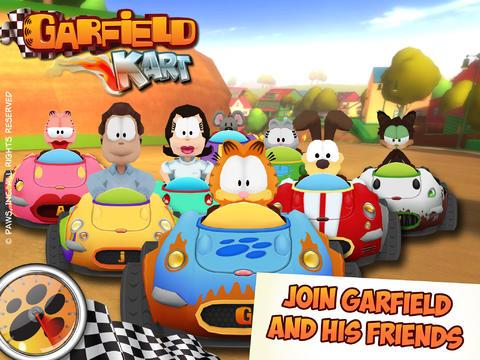 logo Garfield Kartrennen