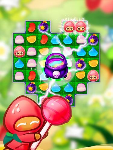 3 Gewinnt-Spiele Cookie run: Jelly pop auf Deutsch