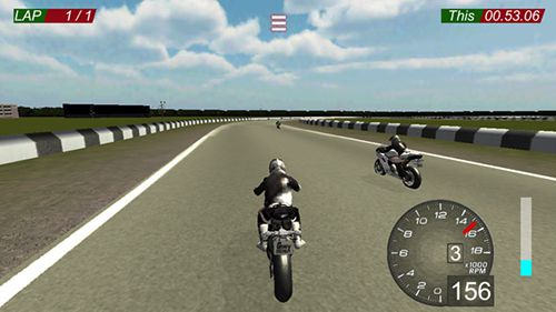 Screenshot Superbike Raser auf dem iPhone