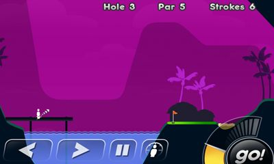 Super Stickman Golf скриншот 1