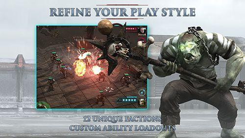 Juegos con multijugador: descarga Martillo de combate 40000: Regicidio a tu teléfono