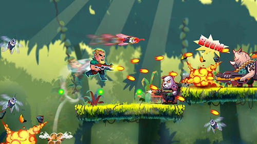 Metal strike war: Gun soldier shooting games für Android