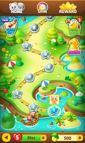 Arcade-Spiele Jelly bust für das Smartphone