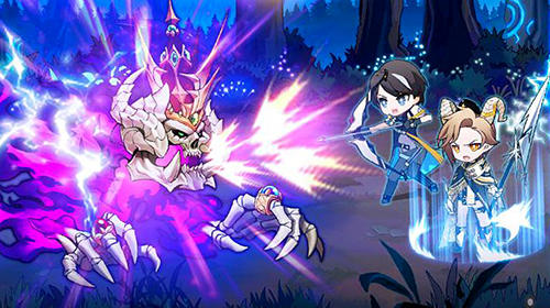 Strategy RPG games Astral сhronicles in English