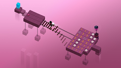Maze frontier: Minesweeper puzzle Screenshot