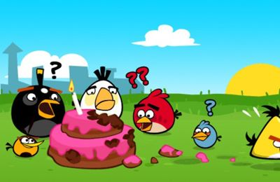 Angry Birds HD: Birdday Party in Russian