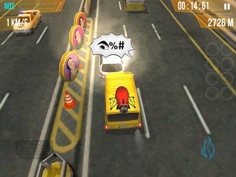 La course de taxi en commun