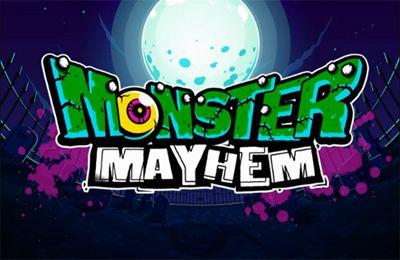 logo Monster Chaos: Zombies schiessen und Turm verteidigen