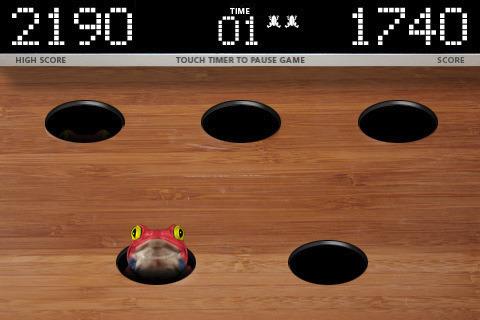 Arcade-Spiele: Lade Schlag den Frosch auf dein Handy herunter