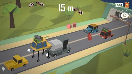 Arcade Lift car: Pumping smashy race für das Smartphone