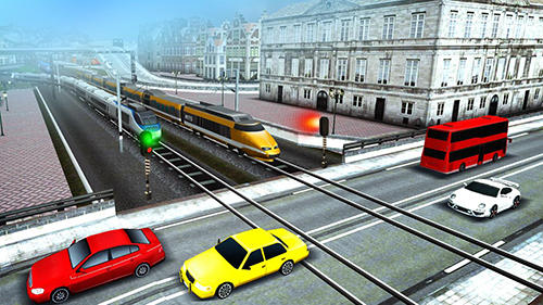 Euro train driving games screenshot 4