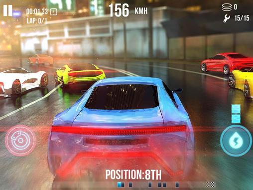 Гонщик: Токіо. Високошвидкісні гонки: Спрага гонки для Android