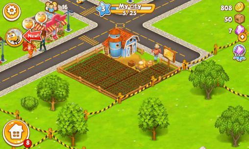 Simulator-Spiele Megapolis city: Village to town für das Smartphone